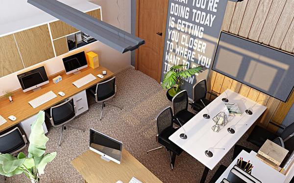 [Tổng hợp] Mẫu thiết kế văn phòng công ty nhỏ đẹp 2021