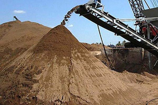 Vật liệu cát trong xây dựng phần thô