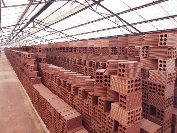 Vật liệu gạch trong xây dựng phần thô