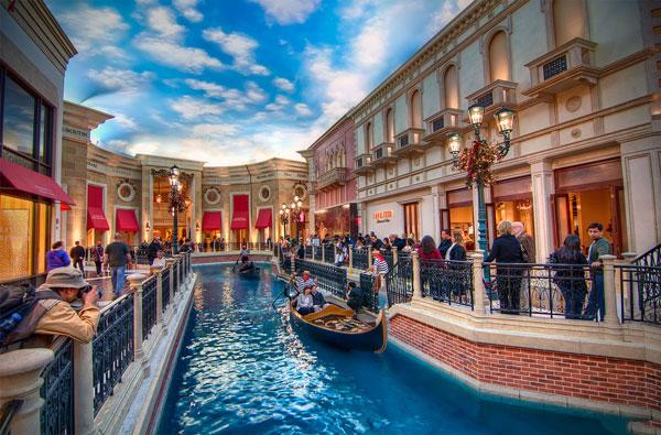 Khách sạn The Venetian – một nước Ý thu nhỏ giữa thành phố Las Vegas tại Mỹ