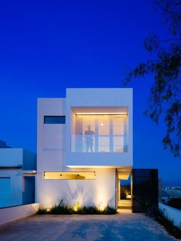 Mẫu nhà 2 tầng với thiết kế đơn giản, độc đáo