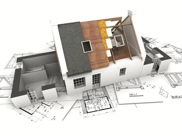 Tiến hành xây dựng sau khi thống nhất phương án thiết kế nhà mái Thái 2 tầng