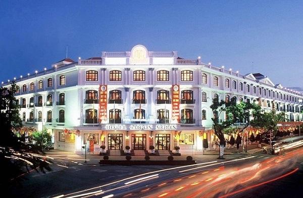 Thiết kế kiểu Pháp của khách sạn Sài Gòn Morin ở thành phố Huế
