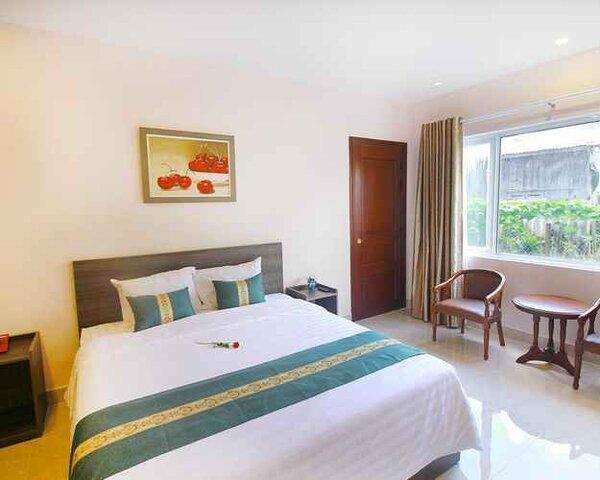Cách phối cảnh khách sạn trong không gian phòng ngủ tiện nghi, sang trọng