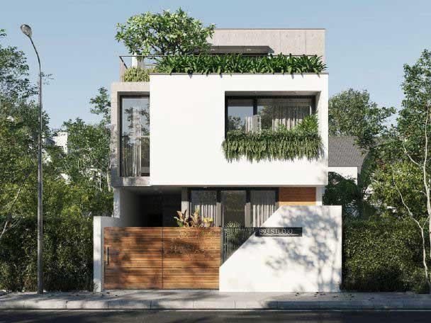 Những yếu tố quan trọng trong thiết kế nhà phố đẹp