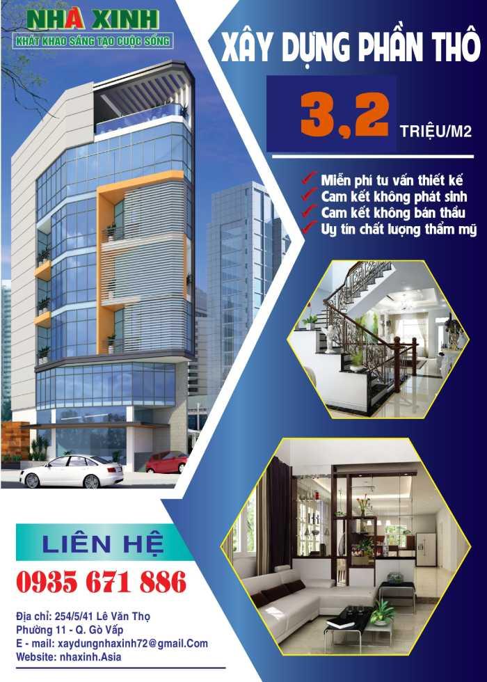 Công ty thiết kế thi công xây dựng Nhà Xinh